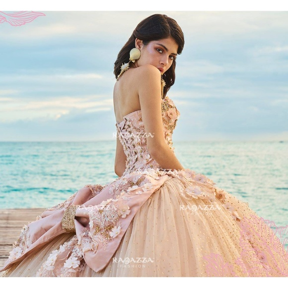 7412d379f5 Quinceañera Dress by Ragazza Natural Collection